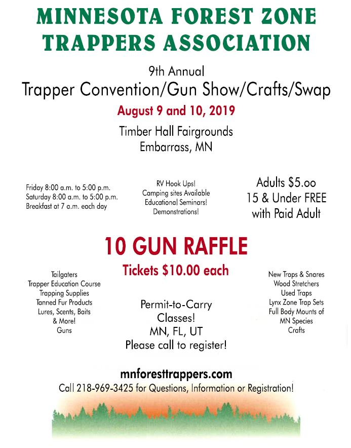 Minnesota Forest Zone Trappers Association - Convention