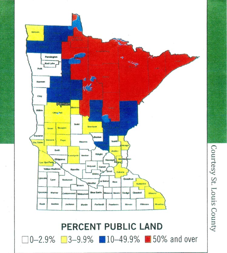 Minnesota Forest Zone Map